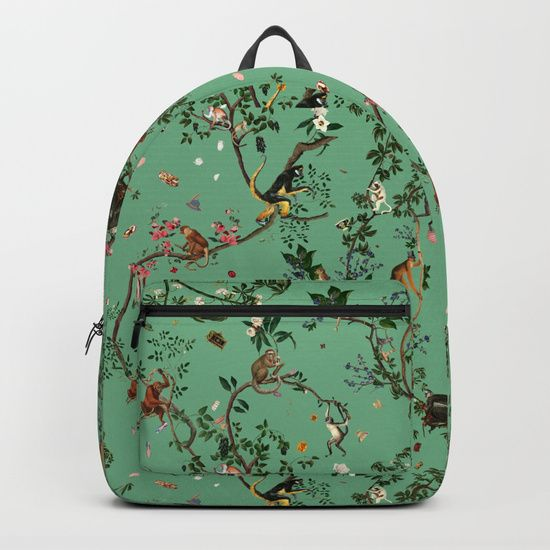 New in the shop: Backpacks! Click! #Backpack #Society6