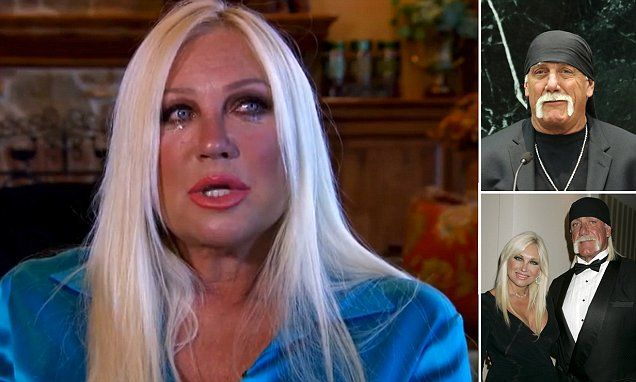 Linda Hogan breaks down as she reads letter to Hulk Hogan
