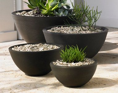 Planter Design Neometrics Low Bowl Planters 16 Quot Diameter