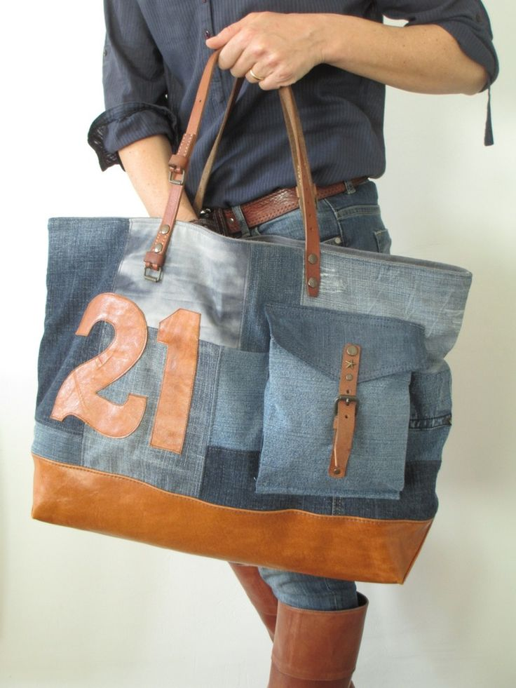 les 25 meilleures id es de la cat gorie sac en jean sur pinterest sac en jean sacs main en. Black Bedroom Furniture Sets. Home Design Ideas