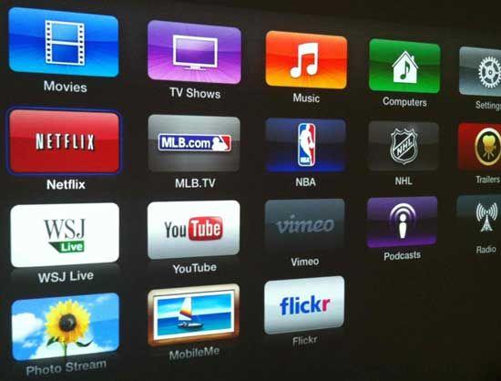 how to delete netflix on apple tv