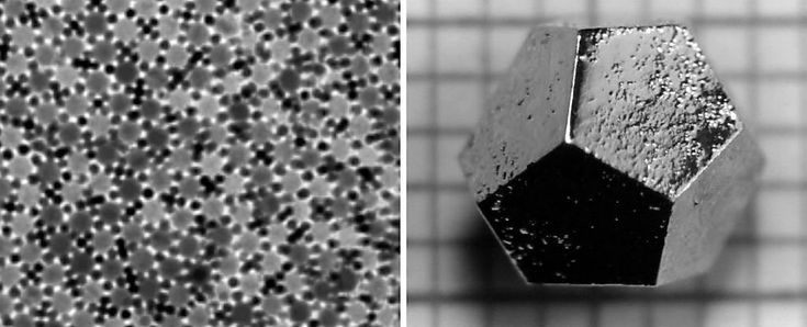 Extremely rare, unlikely crystal found in Russian meteorite