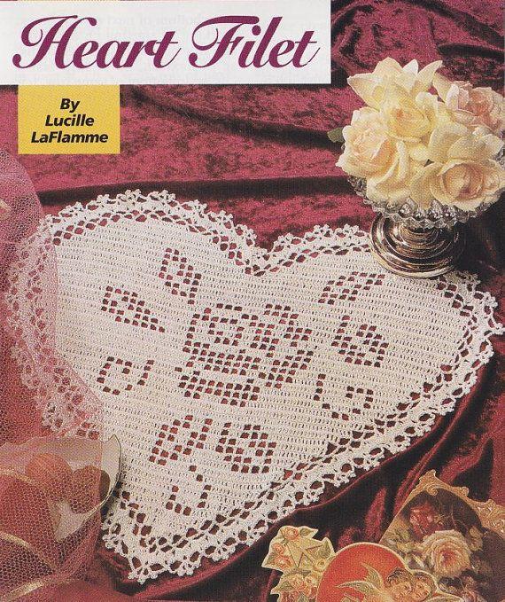 valentine heart doily pattern