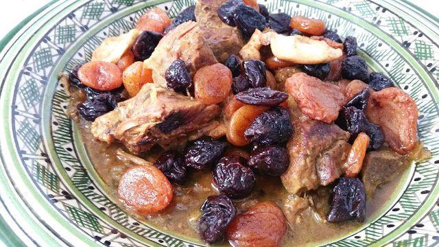 Ellouisa: Tajine van lamsvlees met pruimen en abrikozen