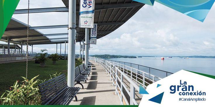 ¡Una vista como ninguna! En el CV de Agua Clara tendrás vistas de las esclusas neopanamax y Lago Gatún: visitcanaldepanama.com