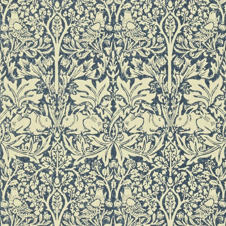 Buy William Morris and Co DMORBR105 Brer Rabbit Wallpaper | Morris Volume IV | Fashion Interiors