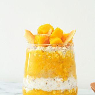 Porridge Sans Cuisson à la Mangue