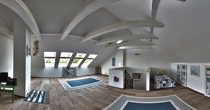 sea cost, beach style attic