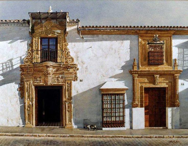 Calle San Pedro, Osuna. Obra de José González Bueno