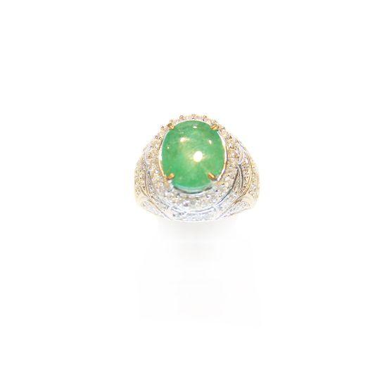 Jamrud Kolombia Ring Silver | Rp 6.000.000