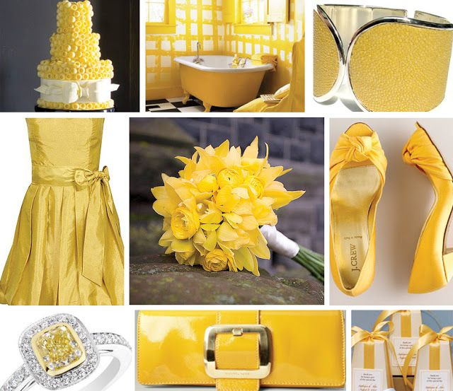 Yellow Wedding Favor