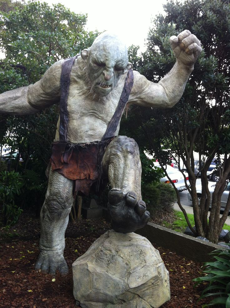 An Orc at the #Weta Cave in #Miramar, #Wellington #LOTR #Hobbit