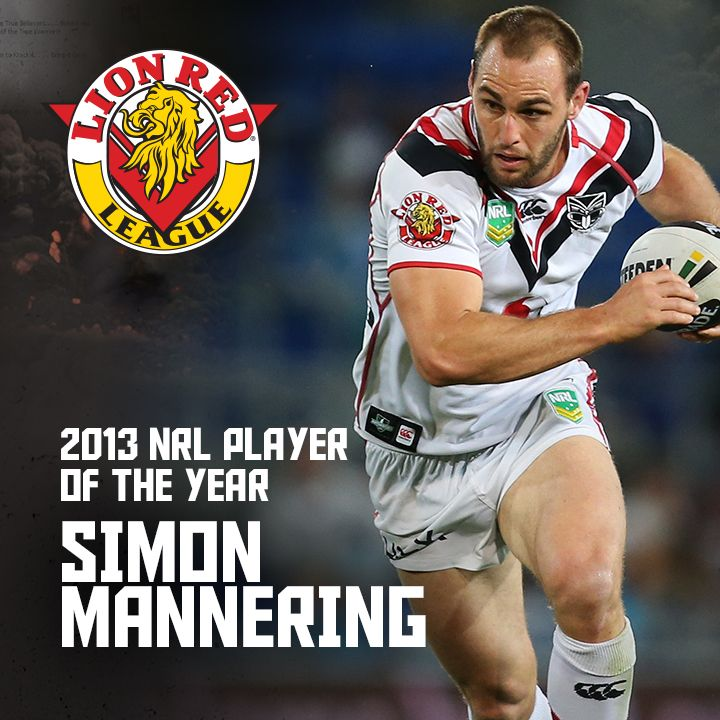 Congratulations to 2013 Lion Red NRL Player of the Year Simon Mannering #warriorsawards2013 #SuperMannering