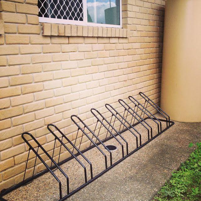 Seven Cherubs: large family bike storage solution