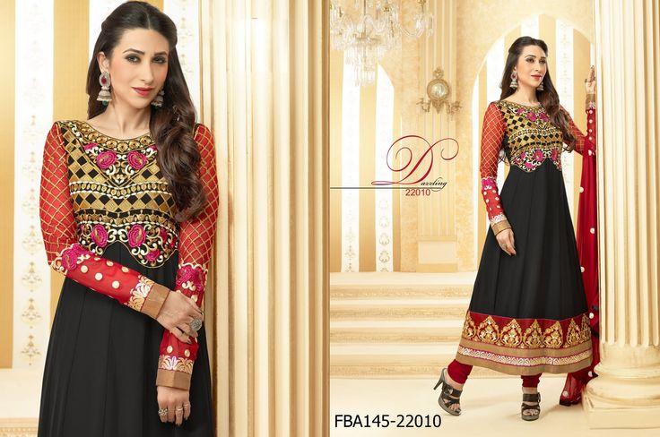 Latest Karishma Kapoor Dresses Exclusively from Nallu Collection! #anarkali #salwarkameez