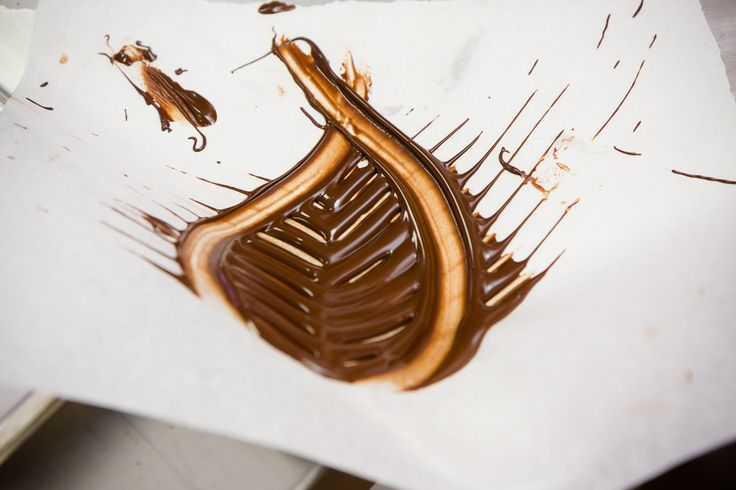 One of the best tricks that I learned during my day as a chocolatier at Kakao Chocolate was how to make these chocolate leaves in just thirty seconds.  Start...