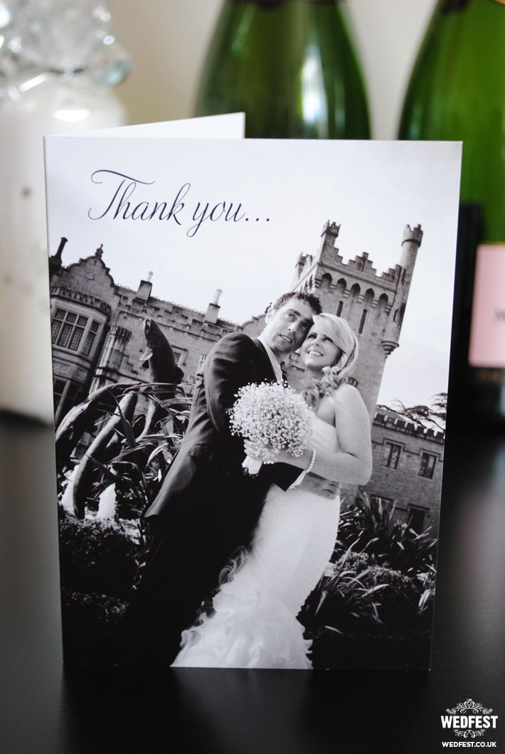 how to write thank you notes for wedding gift cards%0A personalised wedding thank you cards  wedfest  http   www wedfest