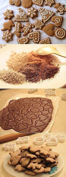 Как приготовить имбирные пряники - рецепт, ингредиенты и фотографии | Вкусняшка | Постила