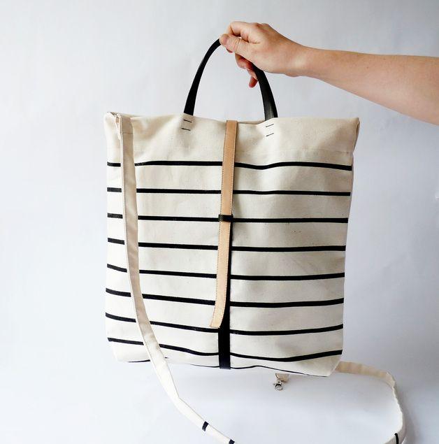 Umhängetasche // Shopper bag via DaWanda.com