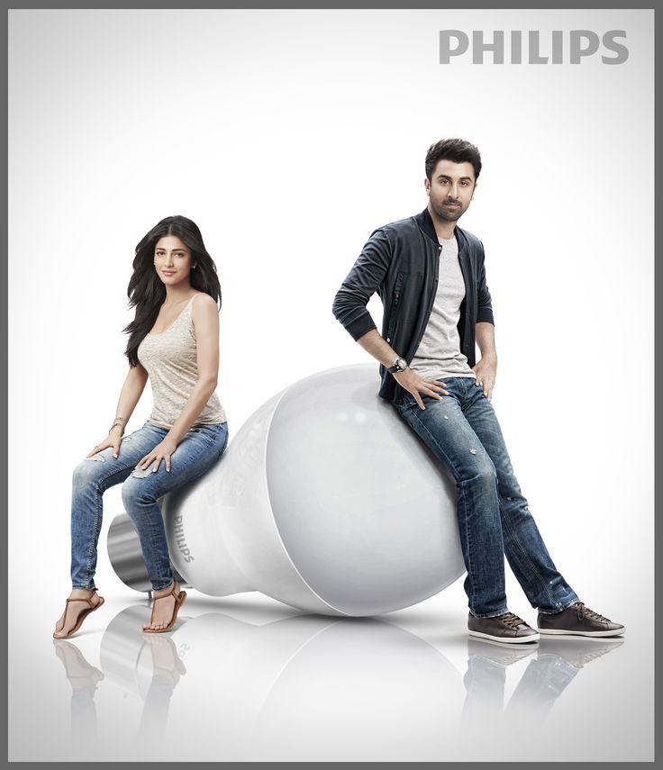 Shruti Haasan, Ranbir Kapoor - Philips (1).jpg