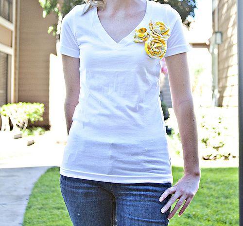 cute indeed. http://www.stitchesandscissors.com/2010/08/embellished-t-shirt-tutorial.html