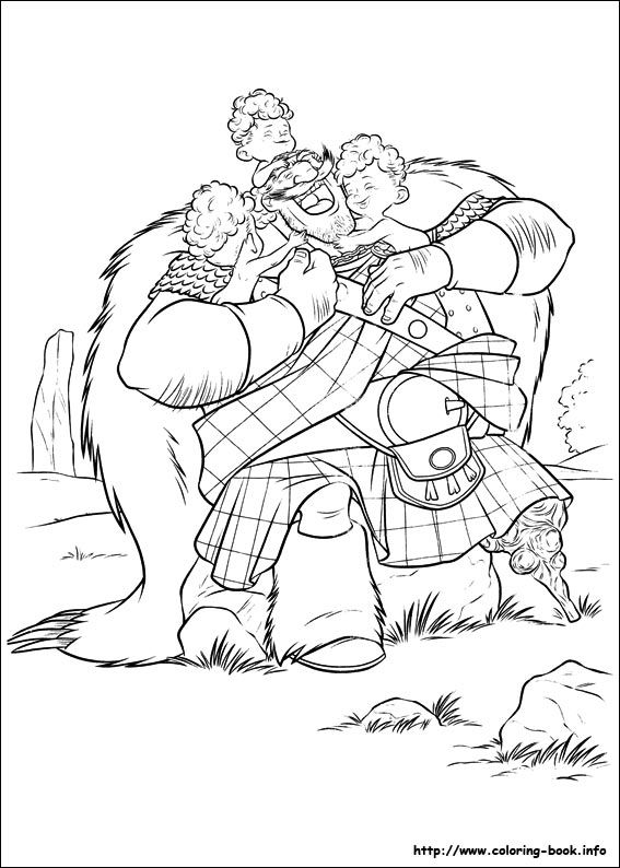 brave coloring picture my coloring pages pinterest