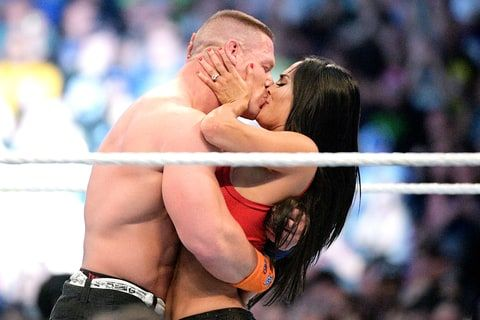 John Cena and Nikki Bella opened up about his sweet WrestleMania 33 proposal on Monday, April 3 — watch