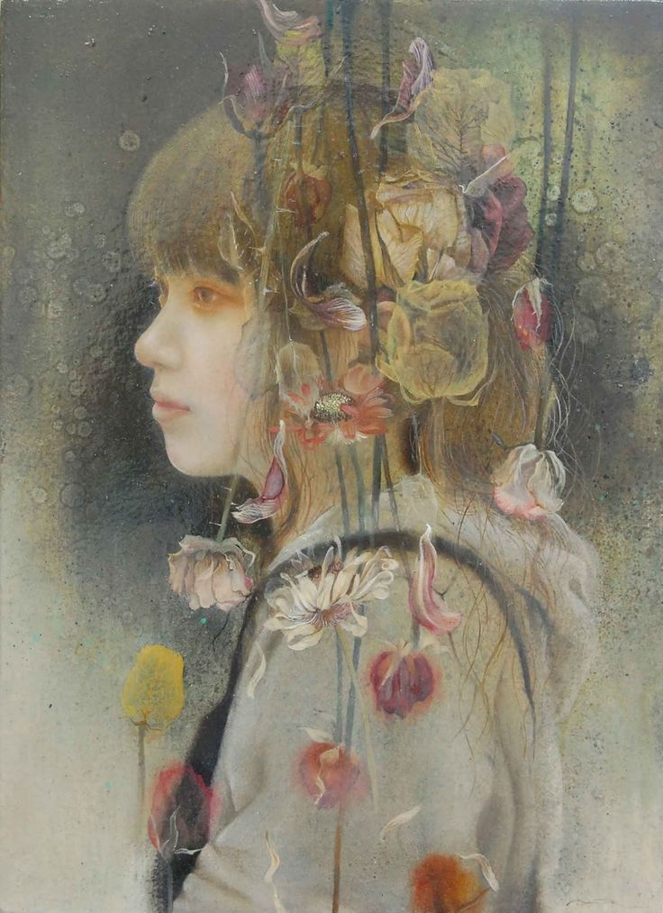1000+ images about ART portreit on Pinterest | Horror art ...