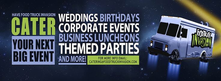 Looking for a food truck to cater your corporate picnic lunch event? Food Truck Invasion brings great food & unique catering service. Hire us for the event!