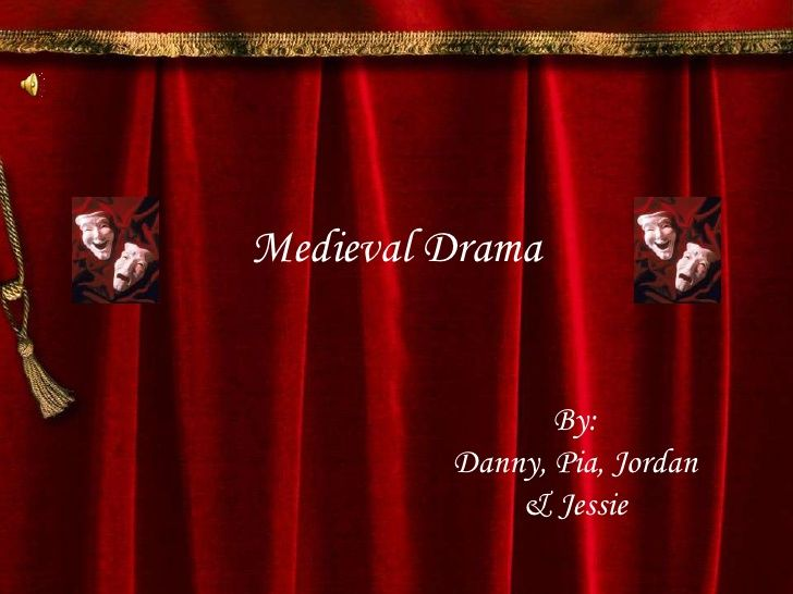 Theatre History Middle Ages By Aixa Rodriguez Via Slideshare