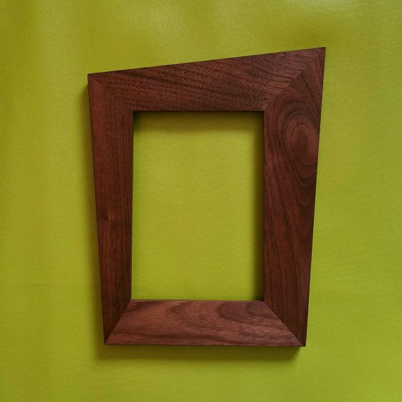 Check out this item in my Etsy shop https://www.etsy.com/listing/261108135/trapezoid-picture-frames-danish-modern