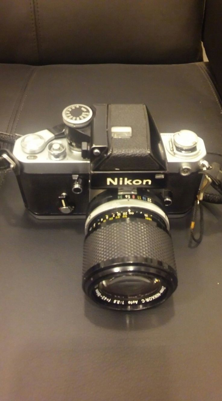 NIKON MODEL# F2 7322837 #japan #with #leather #case #from #body #photomic #film #camera #nikon