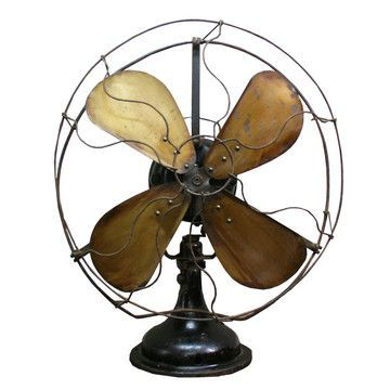 Love these old-timey fans