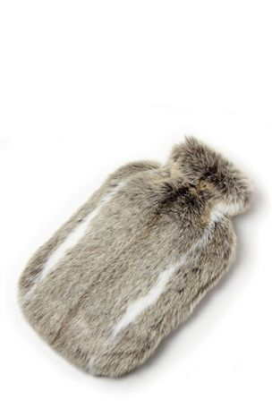 Luxe Faux Fur Hot Water Bottle, cuddle up with a hottie - yes please :) #nextwinterwarmers