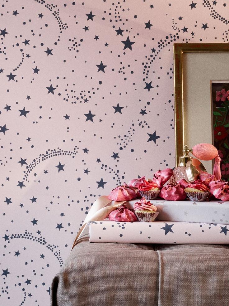 Wallpaper stars rose