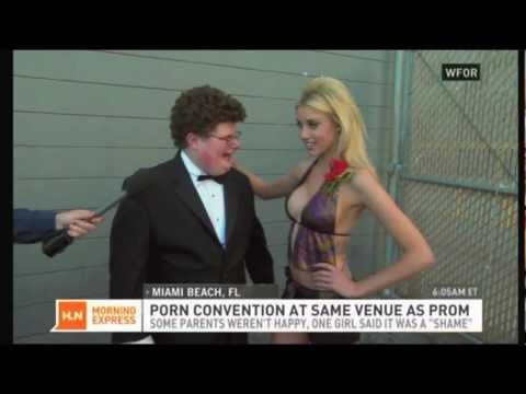 Miami Convention Center Porn Prom. Best part comes at :41