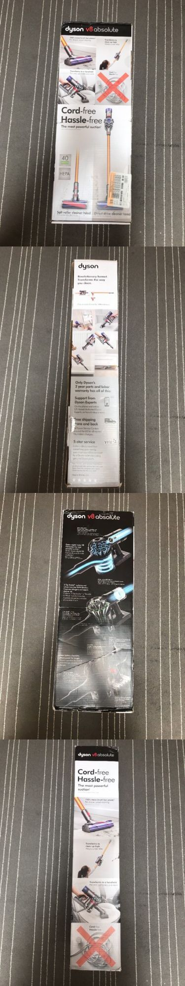 Home Automation Kits: New Dyson V8 Absolute Cordless Vaccum, Warranty, Free Shipping! -> BUY IT NOW ONLY: $494.97 on eBay!