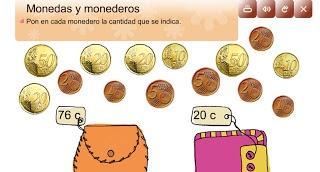 EUROS I CÈNTIMS: BITLLETS I MONEDES