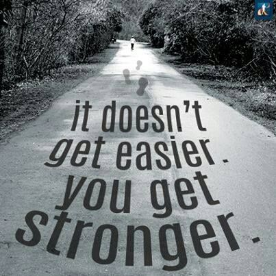 You Will Get Stronger. #workout #motivation #exercise #inspiration #quote #fitness