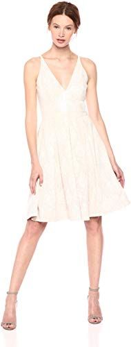 New Dress Population Women's Collette Sleeveless Fit Flare Party Dress online shopping