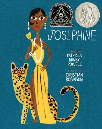 Josephine  The Dazzling Life of Josephine Baker  By Patricia Hruby Powell, Illustrated by Christian Robinson | Chronicle Books