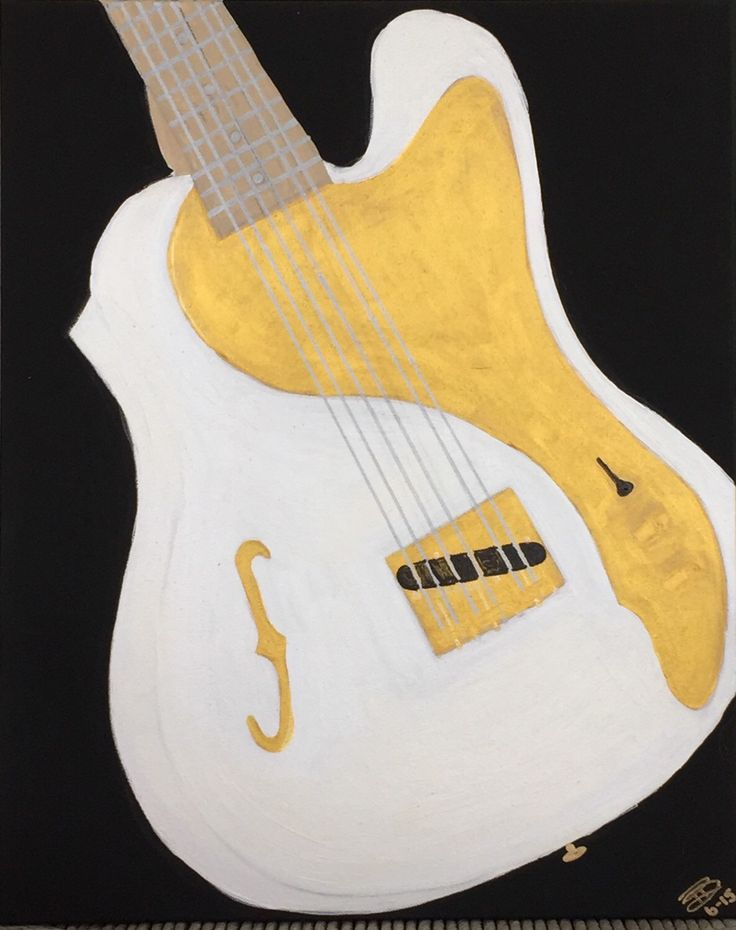 A personal favorite from my Etsy shop https://www.etsy.com/listing/238708441/white-stratacaster-guitar