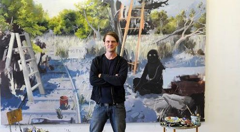 Tilo Baumgaertel the New Leipzig school artist
