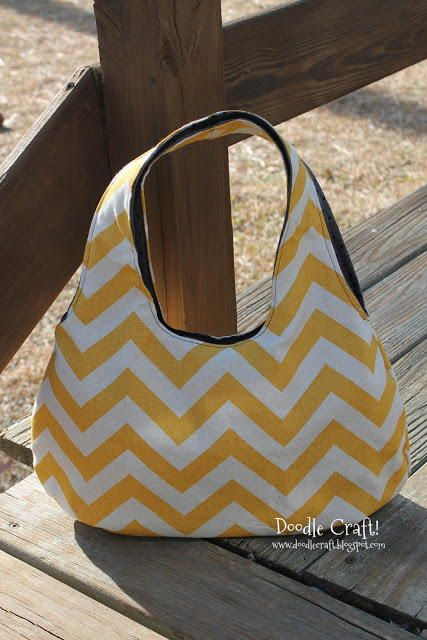 30 Minute Reversible Bag | This super cute bag can be ready in 30 minutes or less!