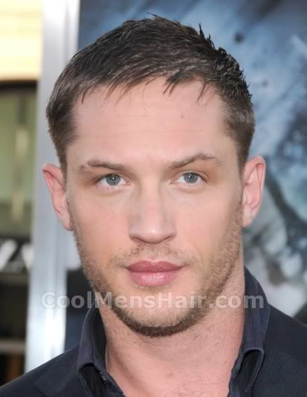 The Tom Hardy Hairstyle  Short And Classic Cool Mens - Classic Hairstyles