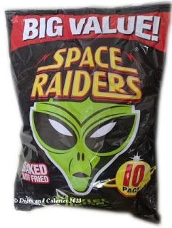 Space Raiders Pickled Onion Baked Snacks multi pack