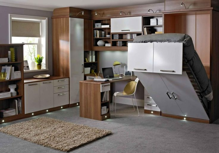 Best 25 bedroom office combo ideas on pinterest for Bedroom office combo