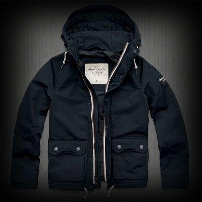 Abercrombie&Fitch メンズ ジャケット アバクロ Bear Run Jacket ジャケット  個性的な配色デザインされたジッパーとアウトポケットにハイネックスタイルがポイントになりお洒落を演出しています。