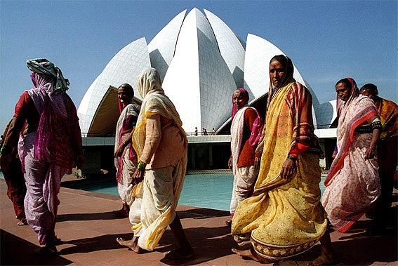 Bahá`í Temple New Delhi, India