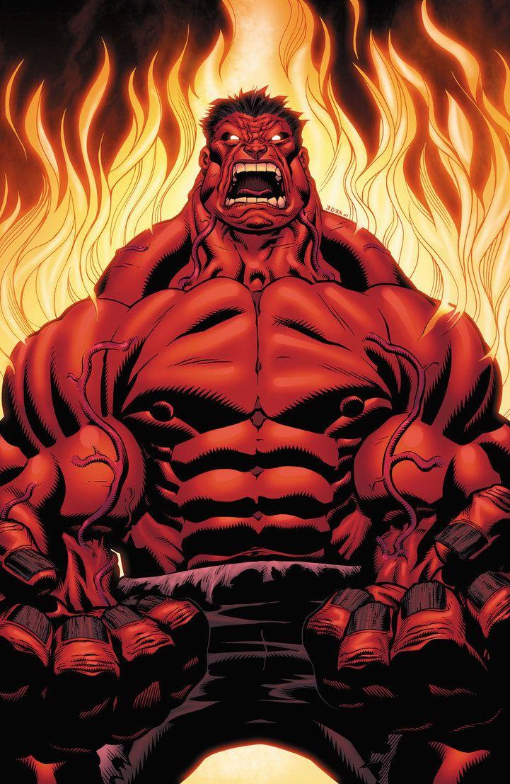 Red Hulk by xXNightblade08Xx on deviantART
